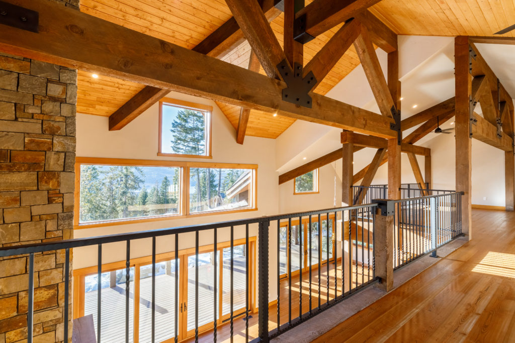 Whitefish Custom Home Real Estate Photography